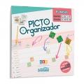 Picto Organizador. 2019-2020 - Contiene más de 1400 pictogramas en pegatina