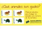 ¿Qué animales son iguales? Material educativo para trabajar los animales y la memoria de forma lúdica