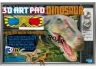 Pintar dinosaurios 3D art pad Dinosaur