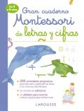Gran cuaderno Montessori de letras y cifras de 3 a 6 años