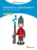 Números y operaciones 4. Santillana Cuadernos. 2º Primaria