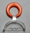 Pantalla oral alambre (pequeña - aro naranja)