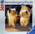 Puzle gatos himalayas 500 piezas