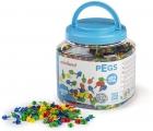 Pegs. Bote 2600 pinchos 10mm. para mosaicos