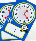Fichas de reloj para escribir