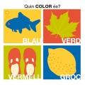 Quin color és? blau, verd, vermell i groc