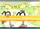 Letrilandia. Cuaderno de escritura 2. Pauta Montessori.