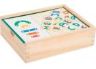 Puzle educativo de letras y números