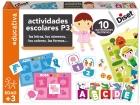 Actividades escolares P3. Las letras, los números, los colores, las formas... 10 actividades distintas