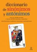 Diccionario de sinónimos y antónimos. Cerca de 30000 entradas y más de 200000 sinónimos y antónimos.