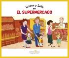 Lucas y Loala en el supermercado