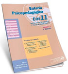 Paquete de 10 cuadernillos de la batería psicopedagógica EOS-11.