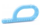 Mordedor Grabber suave con texturas para bebé (azul claro)
