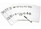Láminas de iniciación al número y a la letra (caligrafia 2)
