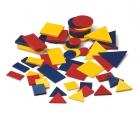 Conjunto bloques lógicos plástico (bolsa de 48 piezas)