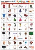 Láminas de vocabulario visual - Objetos