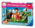 Heidi 2 puzles x 24 piezas