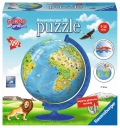 3D Puzzle Globo geográfico