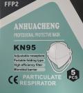 Mascarilla FFP2 KN95 (caja con 5 unidades)