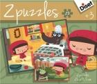 Puzzles Caperucita Roja