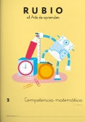 Rubio el arte de aprender. Competencia matemática 2. 7 años