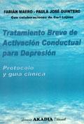 Tratamiento breve de activación conductual para depresión. Protocolos y guía clínica