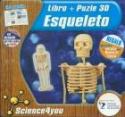 Esqueleto. Libro y puzle 3D