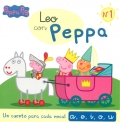 Leo con Peppa Nº1. Un cuento para cada vocal: a, e, i, o, u