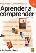 Aprender a comprender 2. Programa de comprensión verbal. (4 de primaria)