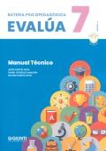 Manual de batería psicopedagógica EVALÚA-7