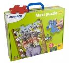 Flexi Wild. Animales salvajes. Puzzle