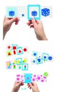 24 fichas auto-correctoras: colores, formas y tamaños