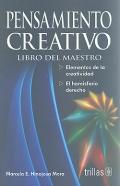 Pensamiento creativo. Libro del maestro.