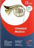 Temario Música. Cuerpo de maestros.