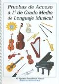 Pruebas de acceso a 1º de Grado Medio de Lenguaje Musical (con CD)