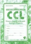 Hojas de registro de CCL, Instrumento de Medida de la Competencia para la Comprensión Lectora.