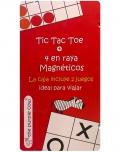 Tic Tac Toe + 4 en raya Magnéticos. Ideal para viajar
