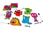 Juego de emociones. ¡Aprende las emociones básicas con estos 6 simpáticos monstruos!