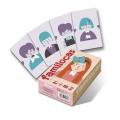 Baraja educativa 40 cartas Familocas (juego de reunir familias)