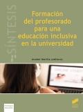 Formación del profesorado para una educación inclusiva en la universidad