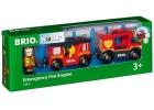 Locomotora de bomberos