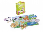 Puzzles de 6 animales flexi forms