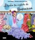 Diseña tu vestido de flamenca. Incluye siluetas recortables y adhesivos