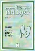 Cuaderno de aplicacion de BADYG M, Bateria de Aptitudes Diferenciales y Generales.