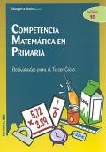 Competencia matemática en primaria.