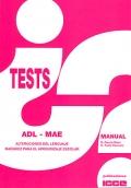ADL-MAE. Alteraciones del lenguaje, madurez para el aprendizaje escolar.