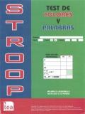 Paquete 10 cuadernillos STROOP (Test de Colores y Palabras. Edición Revisada (b))