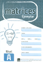 Ejemplar Nivel A (unidad) de MATRICES. Test de Inteligencia General