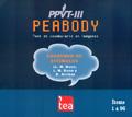 Cuadernos de estímulos de Peabody, Test de vocabulario en imágenes