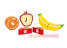 Juego frutas de madera divisibles